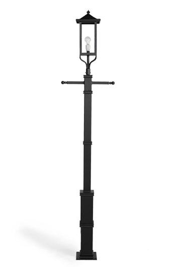 Moderne lantaarnpaal.