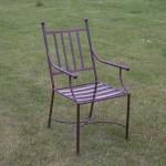 Smeedijzeren stoel