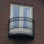 Balkonhek Rond